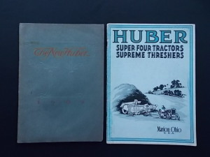 Huber Sales Literature Lot (2)