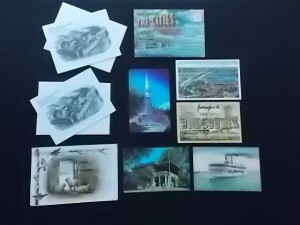 Postcards and Trade cards Lot (9)