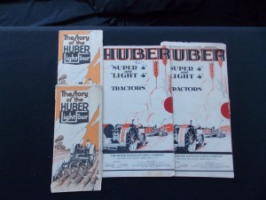 Huber sales Literature Lot (4)
