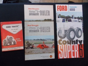 Ford, New Holland, Country Super 6 Literature Lot (5)