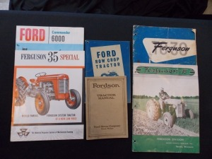 Ford, Fordson, Ferguson Literature Lot (6)