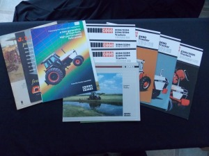 Case Tractor Literature Lot (10)