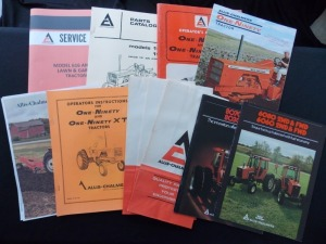 Allis-Chalmers Literature Lot (11)