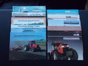 International & Case Catalogue Literature Lot (11)