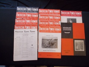 American Power Farmer and American Thresherman Literature Lot (11)