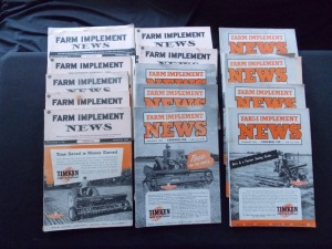 Farm Implement News Literature Lot (14)
