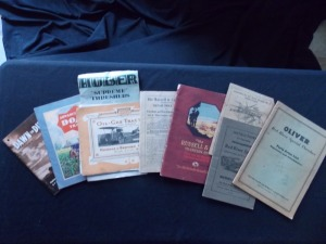 Standard Oil,Advance Rumely, Russell & Co., Huber, Red River Line, Misc. Literature Lot (9)