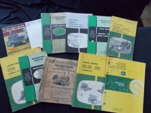 John Deere Literature Lot (10)