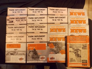 Tractor Field Book and Farm Implement News Literature Lot (16)