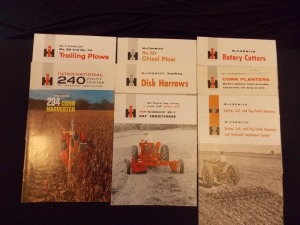 IH McCormick Sales Literature Lot (10)