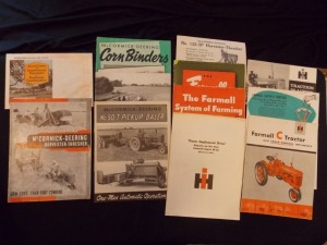 IH McCormick Sales Literature Lot (12)