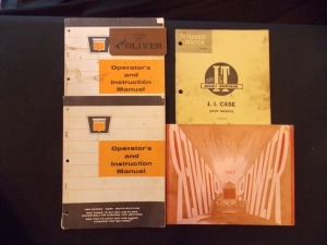 Oliver, J.I. Case and Hart Parr Literature Lot (5)