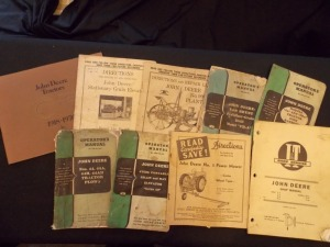 John Deere Literature Lot (9)