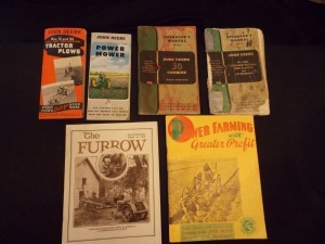 John Deere and misc. Literature Lot (6)