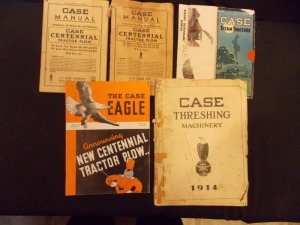 Case Manuals and Sales Literature Lot (5)