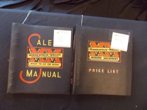 Minneapolis-Moline Sales Manual and Price List