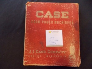 Case Farm Power Machinery Sales Catalog