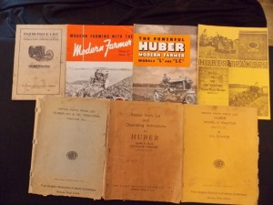 Huber Literature Lot (7)