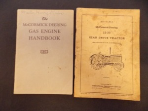 McCormick-Deering Literature Lot (2)
