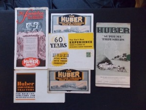 Huber Sales Literature Lot (7)