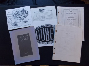 Huber and Hercules Sales Literature Lot (5)