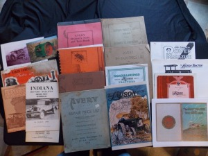Misc. Literature Lot, Avery, Baker, Lauson,Gray, etc (13)