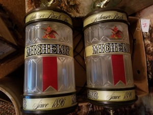 (2) Michelob Wall Sconces