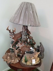 Deer Lamp And Décor Lot