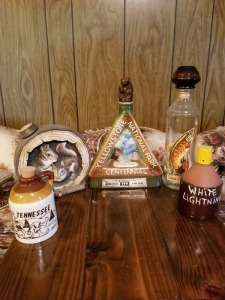 Decanters Lot - Yellowstone, Tennessee , White Lightning
