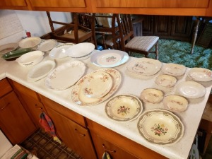 Platters And Plates Lot