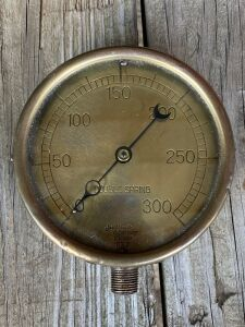 Double Spring Steam Gauge