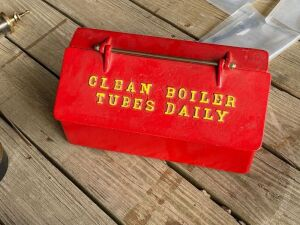 'Clean Boiler Tubes Daily' Cast Toolbox
