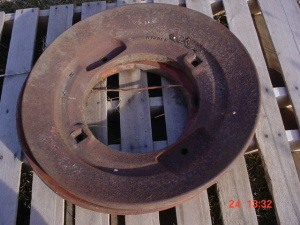 Oliver 77, 88, S77, S88 tractor wheel weights