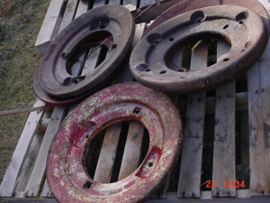 Oliver 77-88 Tractor Wheel weights