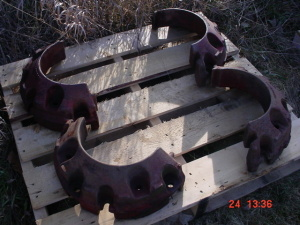 Farmall 300-350-460 Utility Tractor Weights