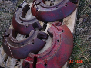 Rare Farmall 560-460 Tractor Heavy Split weights