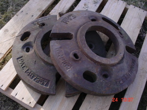 F & H Tractor Weights