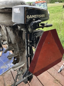 Gamefisher boat motor. 1.2 HP