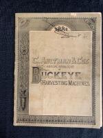 C. Aultman & Co. Annual Catalog of Buckeye Harvesting Machines - 2