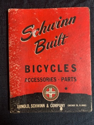Schwinn Built Bicycles Accessories and Parts