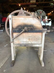 Corn sheller with elevator 14A