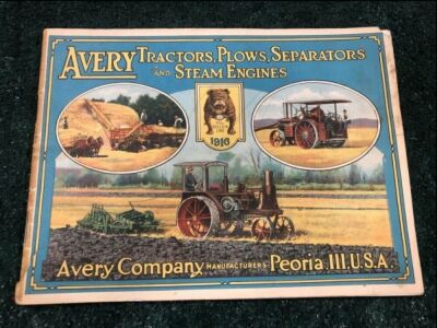Avery Company Tractors, Plows, Separators, and Steam Engines Sales Catalog