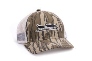 MO NWTF Bottomland Cap w Mesh back and Waxcloth Visor