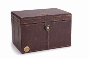 NP NWTF Faux Leather Trinket Box SCNT97104 SC