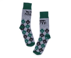 NP Custom Dress Socks w/ NWTF Logo