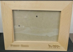 "NP NWTF Picture Frame 5"" x 7"" NWTF Logo"