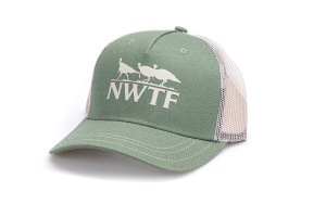 NP Pine w/Stone Mesh Back Cap with NWTF logo #226756