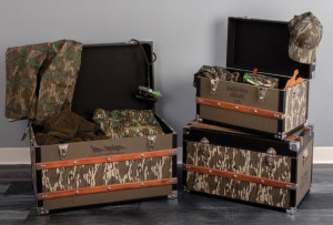 Bottomland Trunk Medium will  have a gun in 2 of the 3 trunks