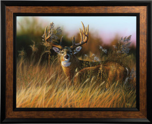 """Sunrise Buck"" Giclee by Eddie Leroy"