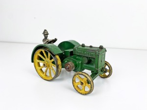 "1/16th John Deere Vindex Model ""D"" Tractor with Driver"